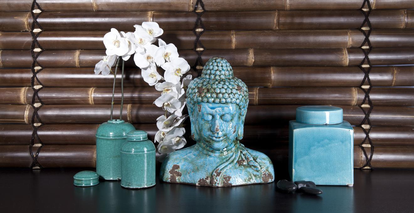 Figuras de buda paz y armon a para la casa westwing for Objetos decoracion jardin