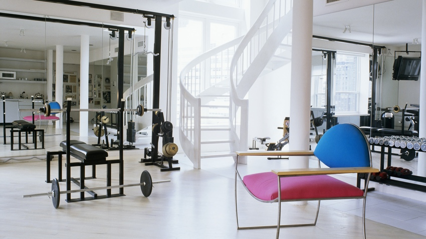 Gimnasio en casa c mo montar tu propio gym westwing - Decorar despacho profesional ...