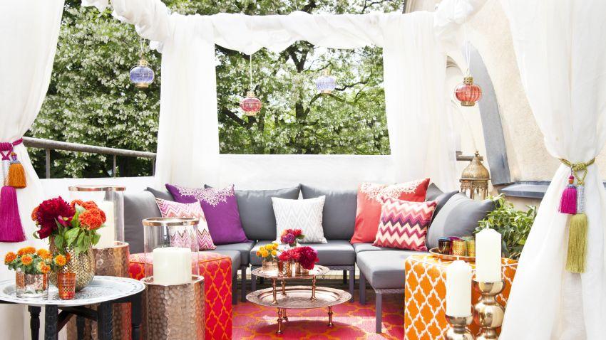 Toldos para patios sombras con estilo westwing - Toldos para patios interiores ...