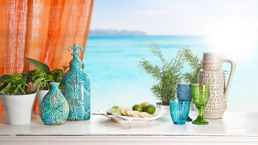cocina de verano refrescantes y coloridas westwing