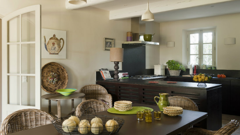 cocinas de madera contemporáneas