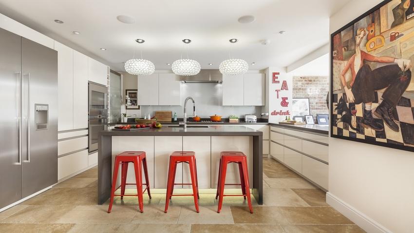 Suelos para cocinas resistentes y estilosos westwing - Suelos porcelanicos para cocinas ...