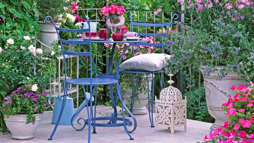 Como decorar terrazas encantadoras fotos de terrazas con - Terrazas pequenas con encanto ...