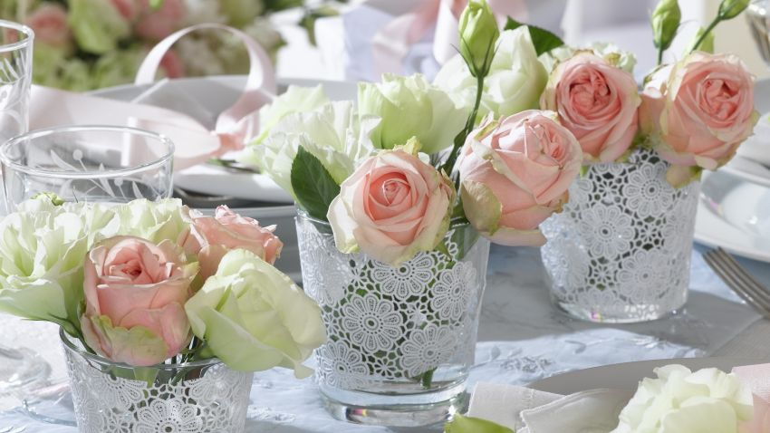 Mesas de boda personalizadas