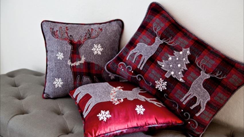 Cojines de navidad esp ritu navide o en casa westwing - Adornos para cojines ...