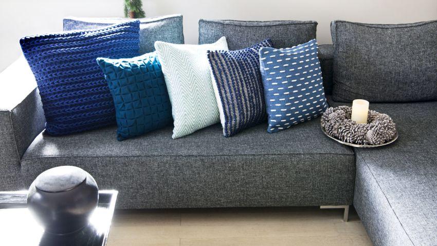 C mo decorar un sof todo sof s cojines para el salon - Cojines de salon ...