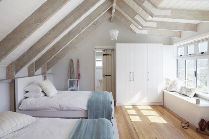 Dormitorio abuhardillado refugio con encanto westwing - Camera da letto mansarda ...