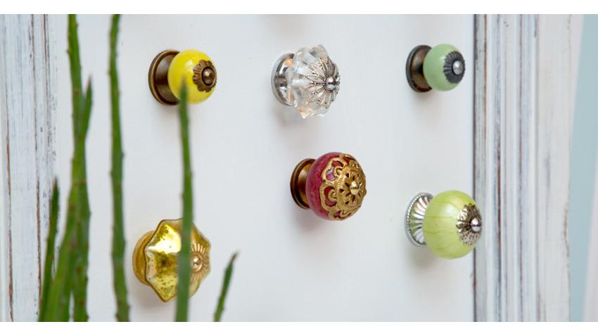 Tiradores de cristal un toque de brillo y luz westwing - Pomos puertas armarios ...