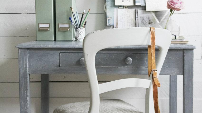 Escritorio gris los mejores modelos westwing for Como reciclar un escritorio de madera