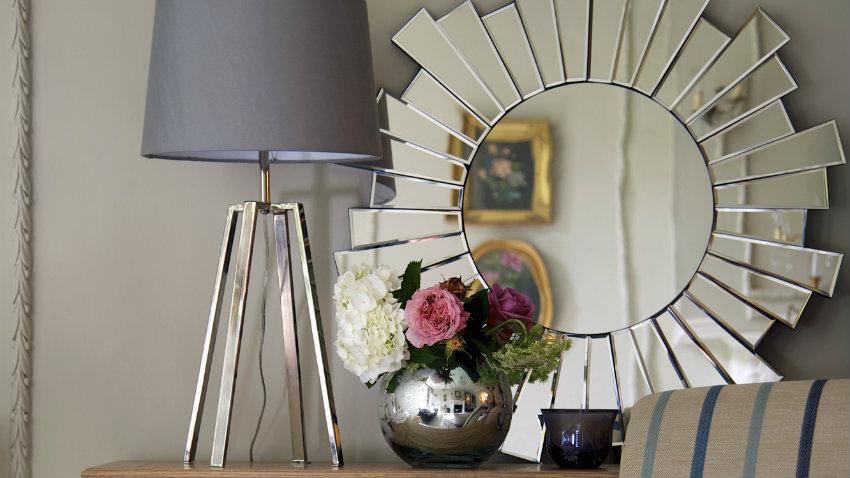 Espejos de cristal reflejo de glamour westwing for Espejos con marco de cristal