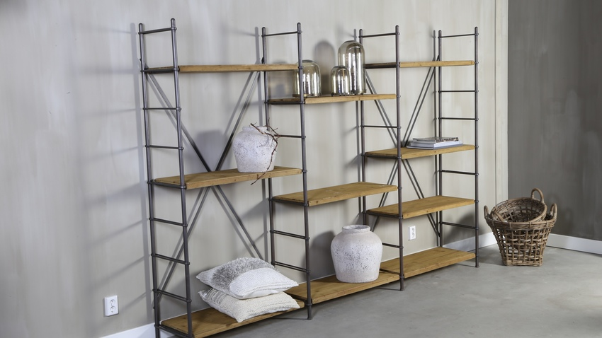 estanteras de estilo industrial with estanterias separadoras