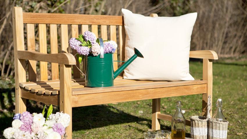 Banco para terraza asiento perfecto de exterior westwing for Bancos para terrazas baratos