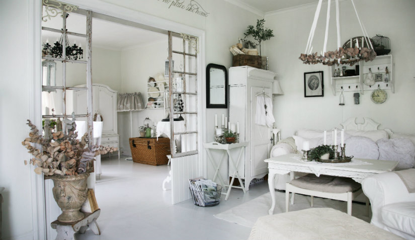 salones shabby chic cl sicos y muy actuales westwing On salones clasicos actuales