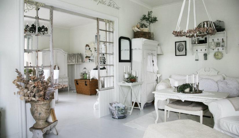 Salones shabby chic cl sicos y muy actuales westwing - Fotos de salones decorados de casas ...