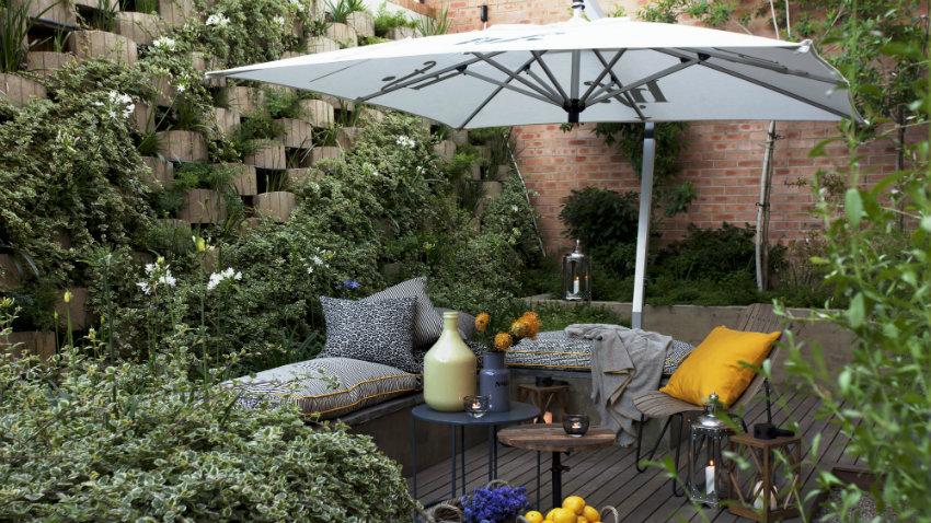 Cenador de aluminio reuniones al exterior westwing - Cenador para jardin ...