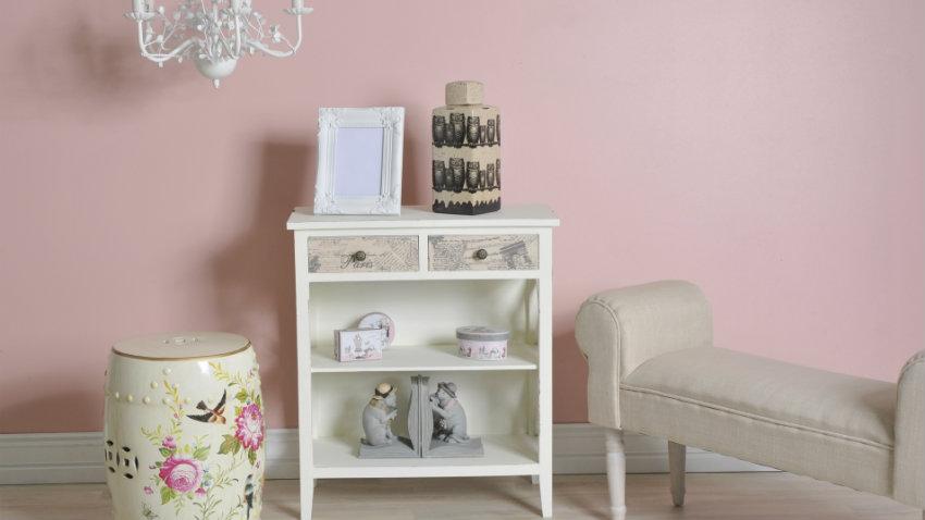Pared rosa decoraci n rom ntica y elegante westwing - Habitacion rosa palo ...
