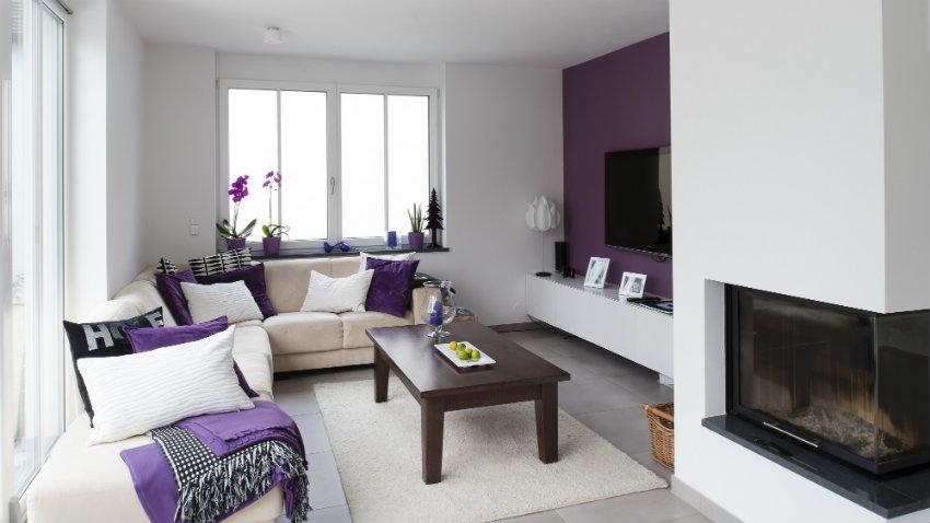 paredes moradas espacios de lujo y elegancia westwing On paredes moradas