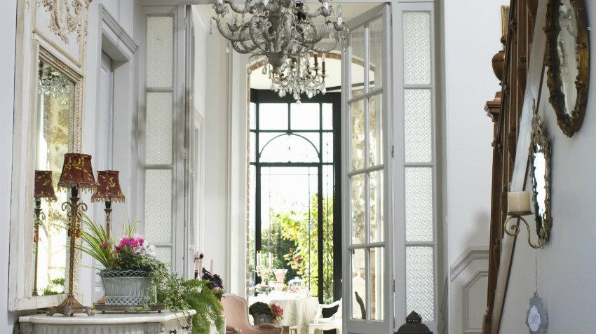 Recibidores de cristal ligeros y elegantes westwing - Recibidores de lujo ...