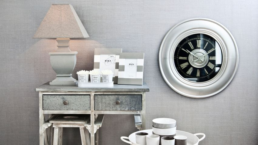 Pendule salle de bain horloge salle de bain ventouse - Pendule murale design inox ...
