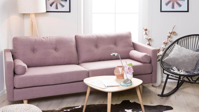 Canapé de style rétro