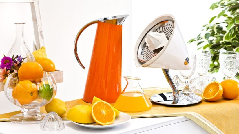 Carafe rétro orange