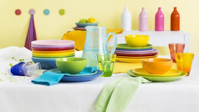Bouteilles décoratives de couleur