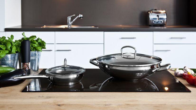 Grande poêle wok
