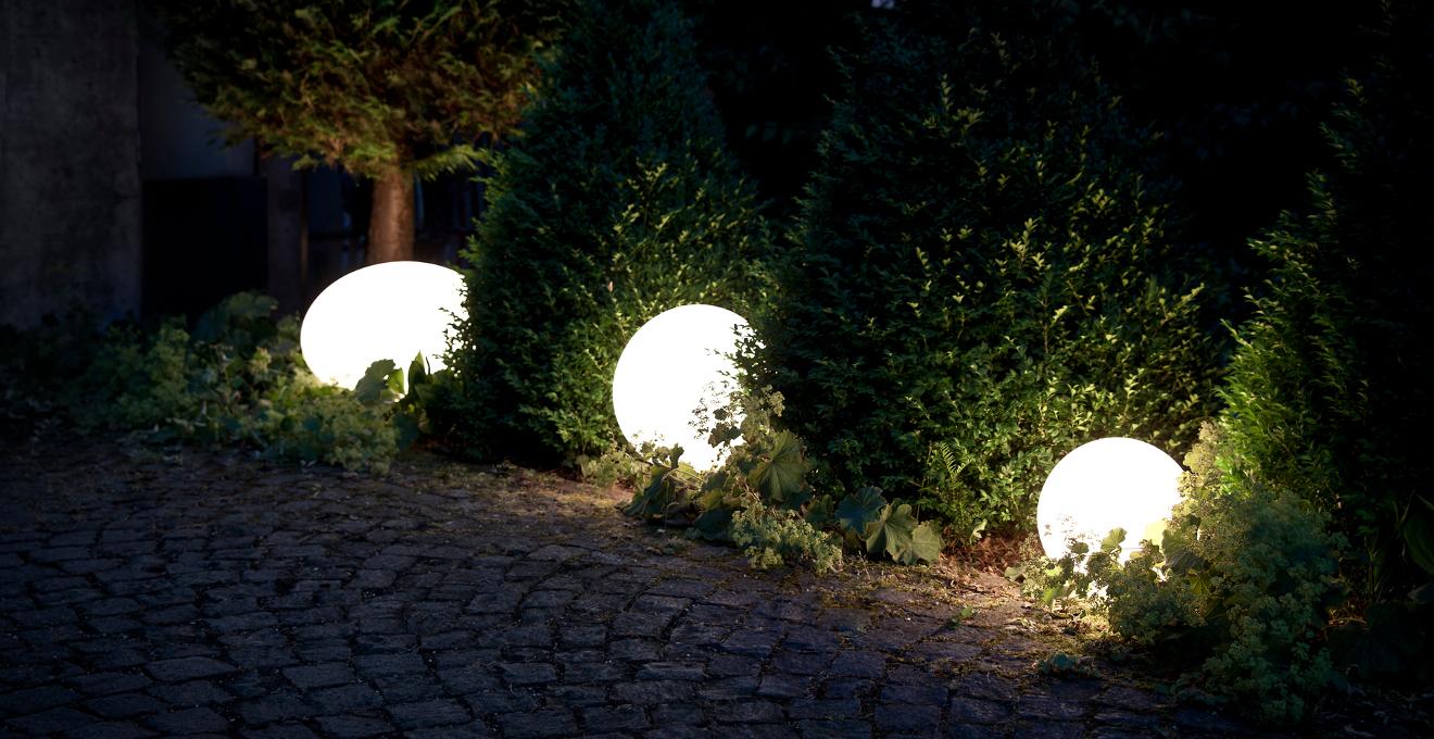 Lampe de jardin