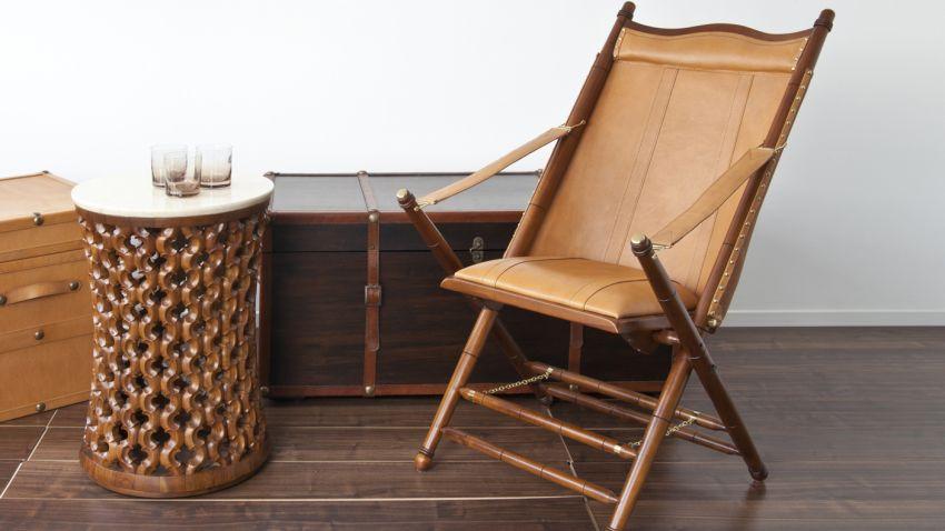 Chaise pliante bois