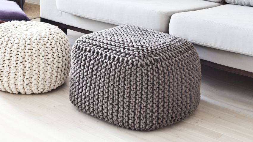 pouf poire gris une l gance prot iforme westwing. Black Bedroom Furniture Sets. Home Design Ideas