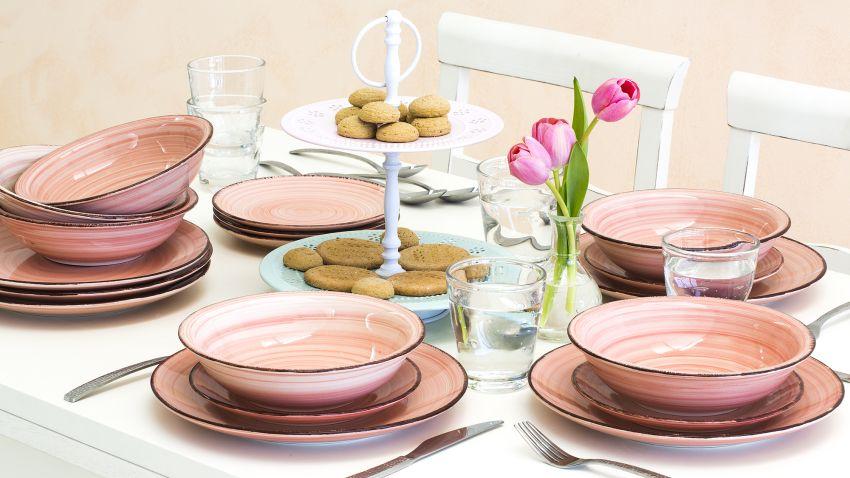 Assiette rose i westwing ventes priv es 100 d co - Assiette originale moderne ...