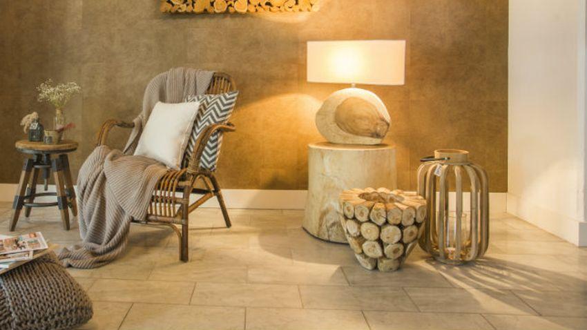 Lampe bambou d co ethnique et naturelle - Table de chevet bambou ...