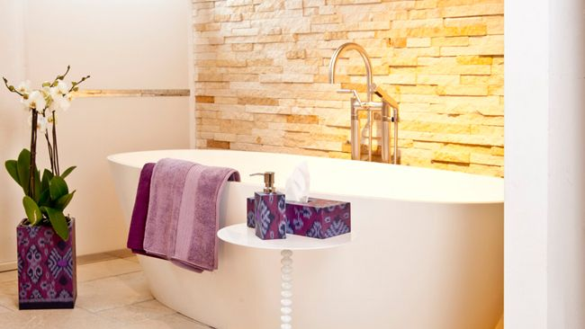 Salle de bain de style zen