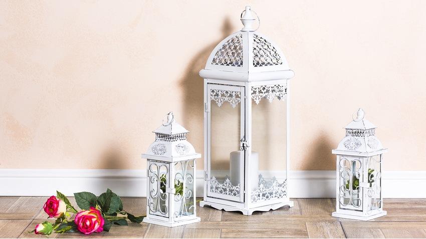 lanterne blanche ventes priv es westwing. Black Bedroom Furniture Sets. Home Design Ideas