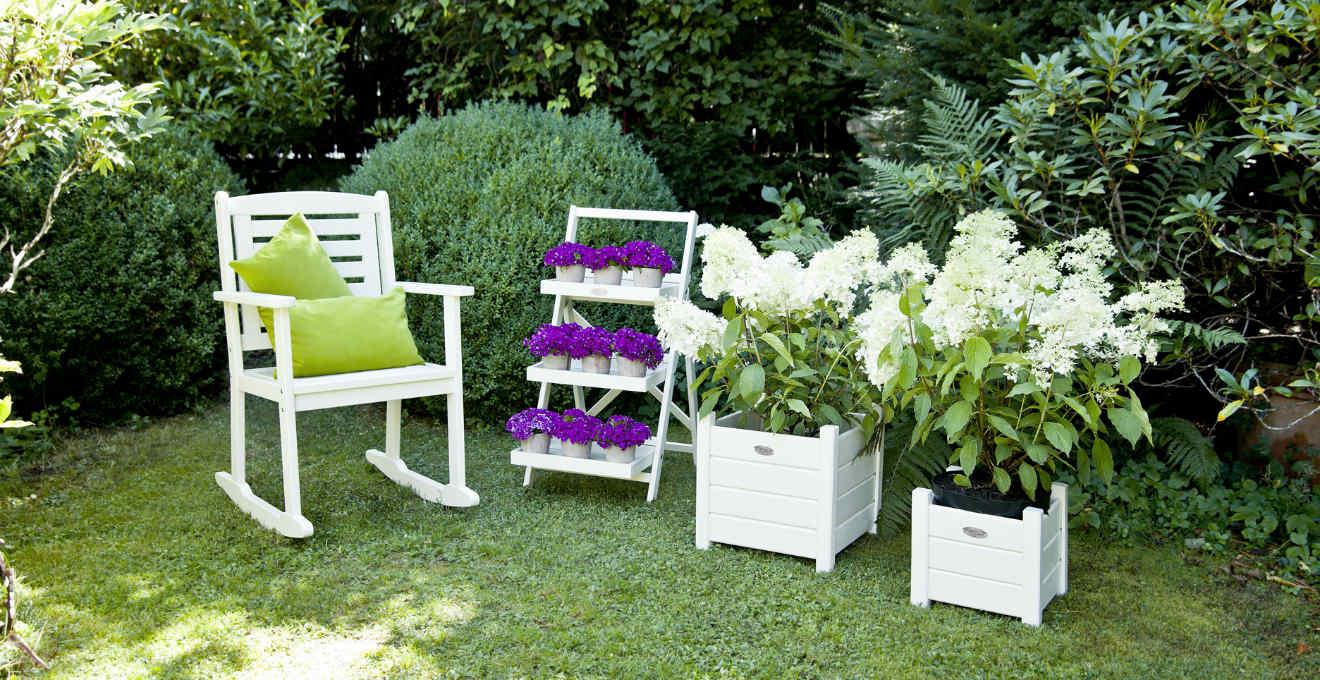 Giardino ispirazioni per un cortile perfetto dalani - Oggetti per giardino ...