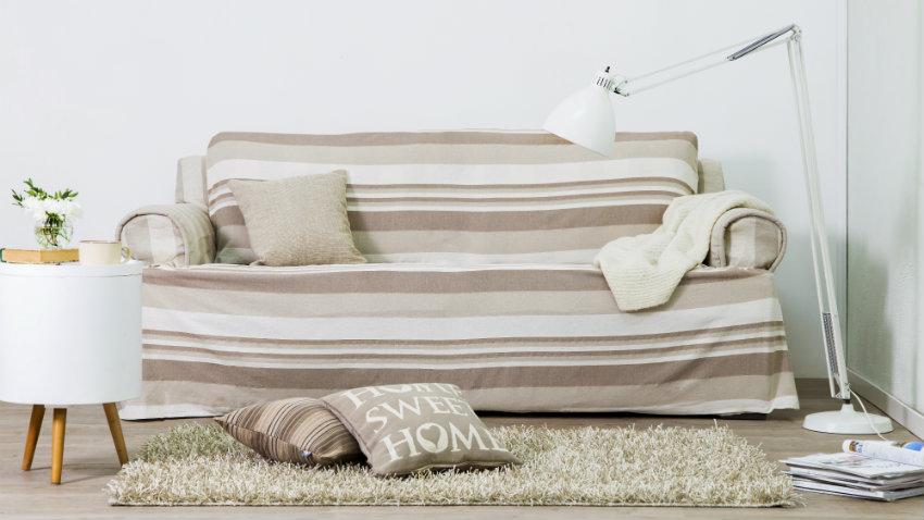 Copridivani stile e comfort in soggiorno dalani - Copridivano stile provenzale ...