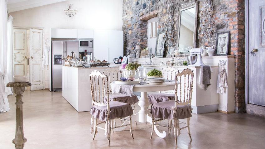 Cucine shabby chic: romanticismo vintage | DALANI