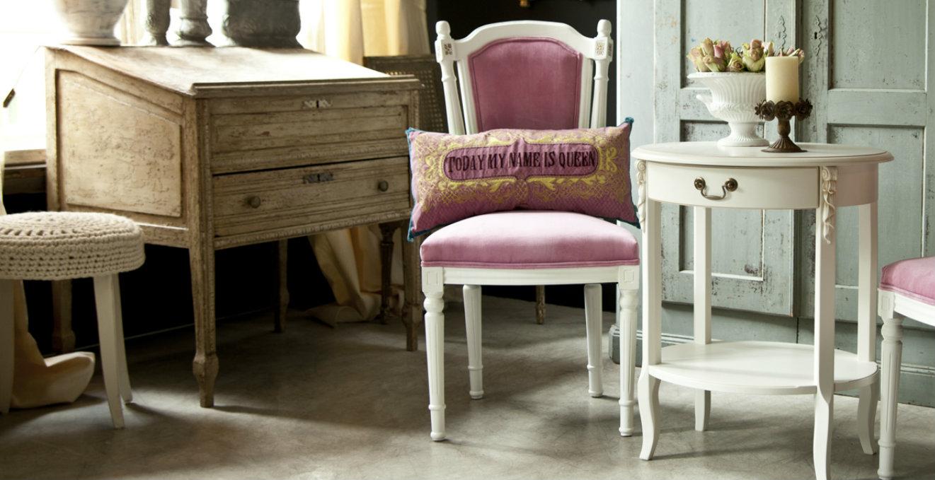 Dalani mobili antichi ambienti chic e tradizionali for Mobili salone classici