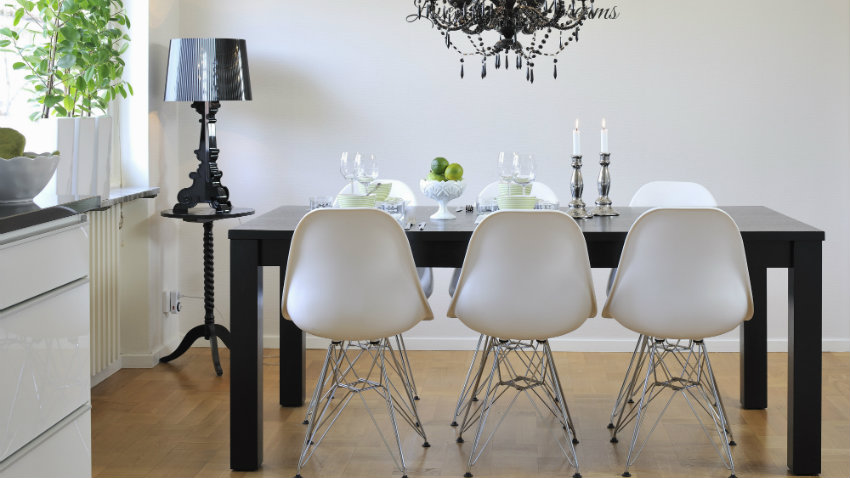 Dalani tavoli da pranzo allungabili pratici ed eleganti - Tavolo pranzo cristallo ...