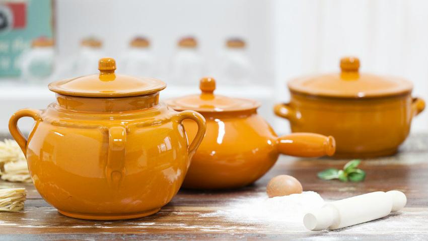 Pentole in ceramica