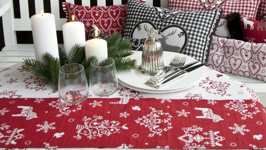 Dalani runner natalizi decorazioni per la tavola di natale - Runner da tavolo ...