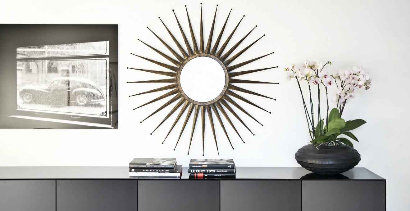 Dalani Specchio Nero Riflessi Glamour