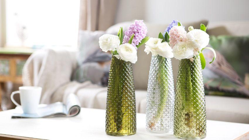 Dalani vaso in vetro eleganti e raffinati oggetti - Coprivasi da interno ...