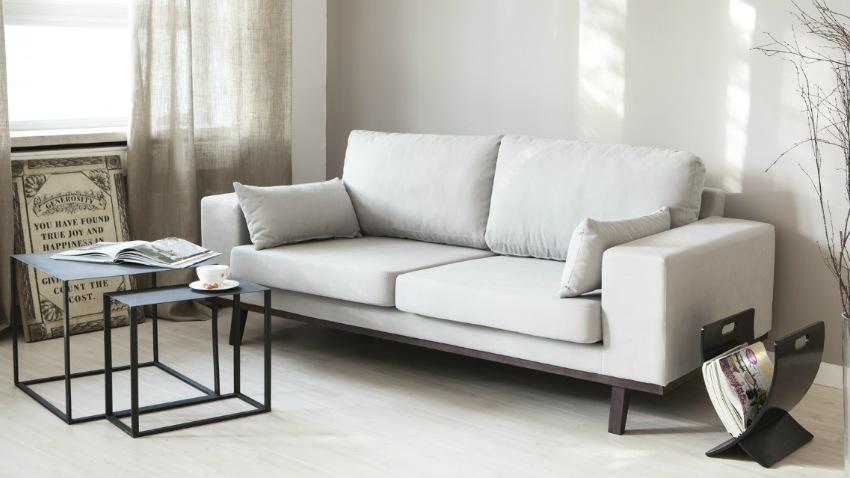Dalani divano bianco purezza d 39 arredo for Arredamento moderno elegante