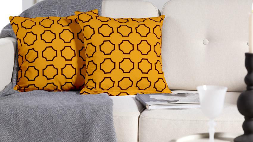 DALANI  Divano giallo: per un comfort allegro e vivace