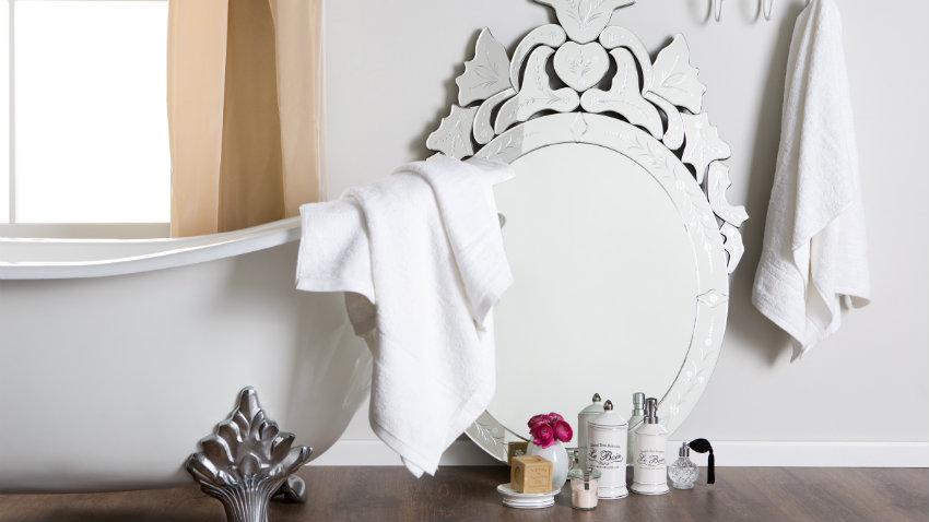 Dalani tende per il bagno delicate decorazioni - Tende classiche per bagno ...