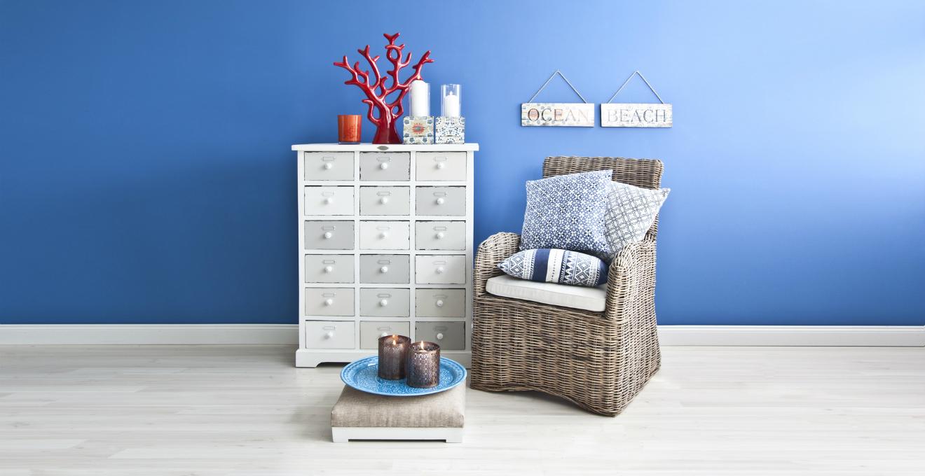 Dalani stile marinaro romantico rilassante e semplice for Arredamento stile marinaro
