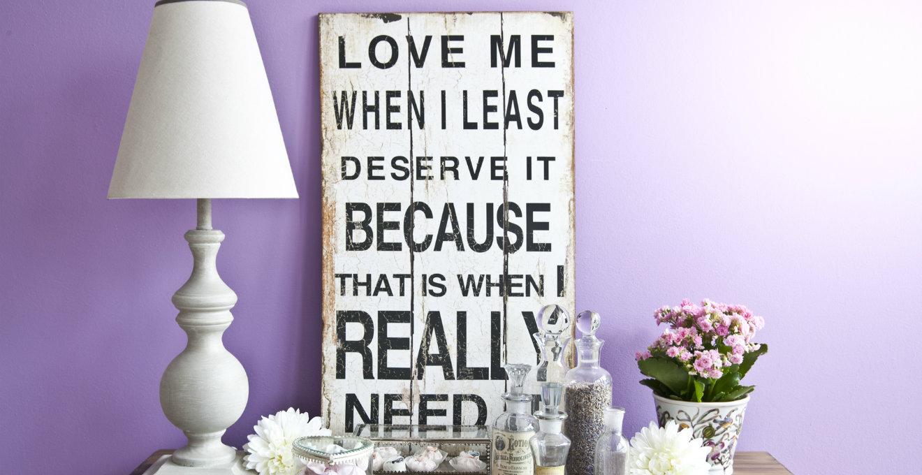 Quadri di citazioni romantiche