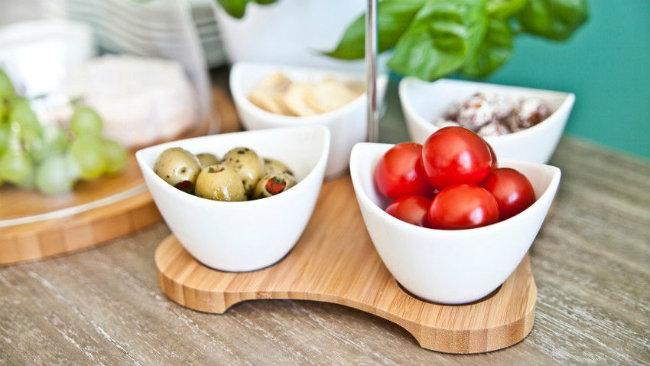aperitivo in casa antipastiera verdure snack