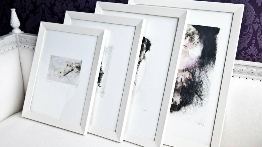 Dalani cornici bianche candide ed eleganti for Cornici bianche